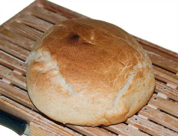 Pan en Pirex
